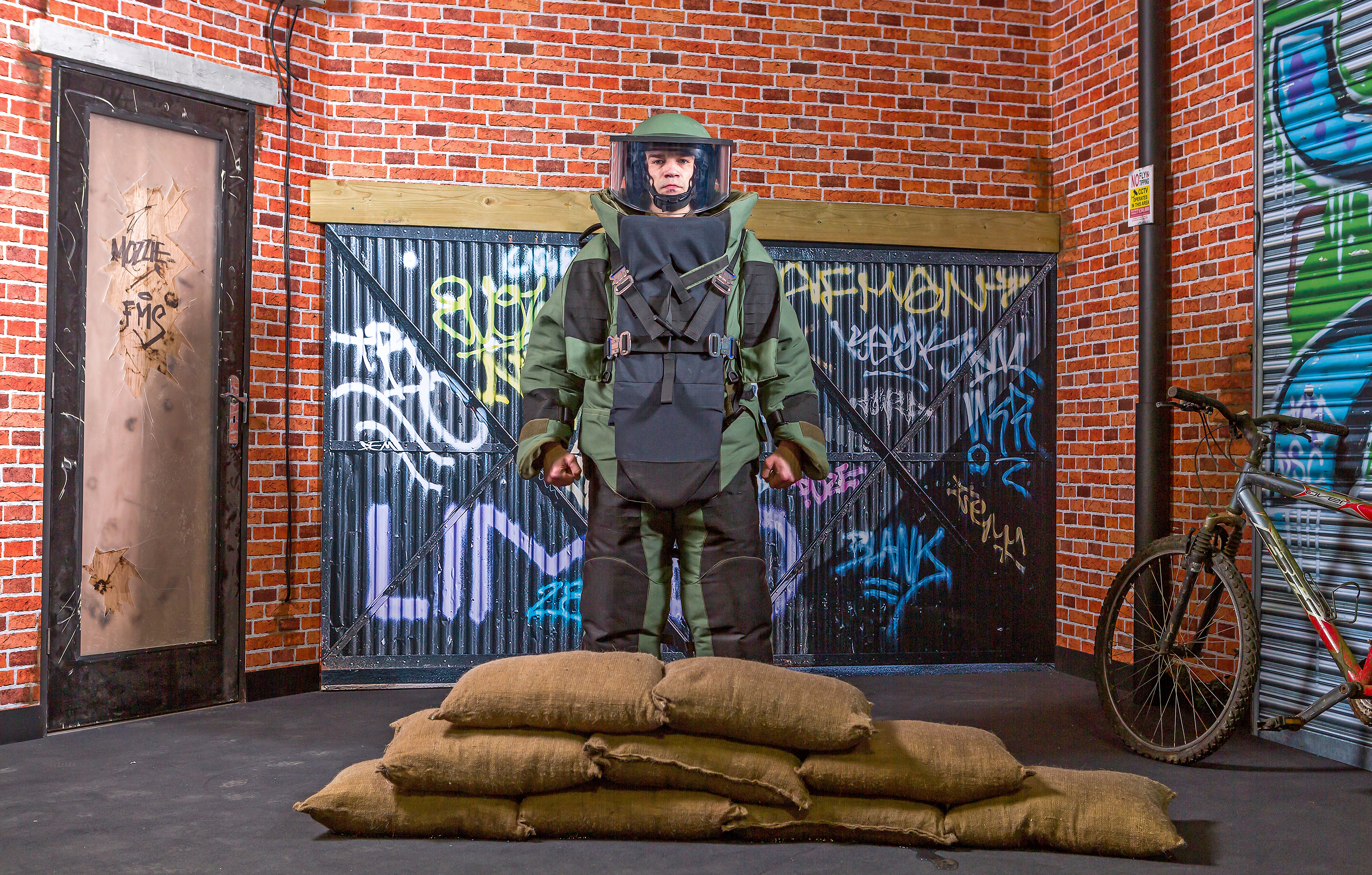 BlastSax April 2019 6 BlastSax wall with soldier in protective equipment.jpg